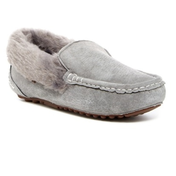 5dca7be0c3c1d LAMO Aussie Moc Faux Fur Driver Slipper